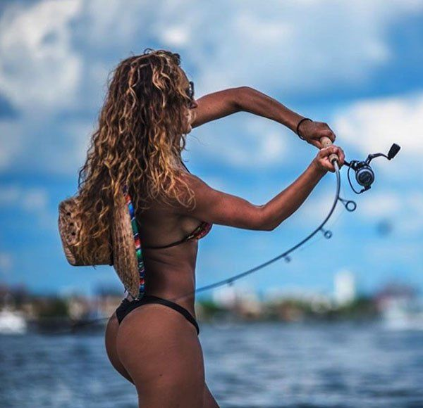 Hot fishing women super