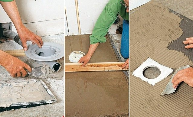http://www.systemed.fr/ - Encastrer l'évacuation d'une douche dans le sol