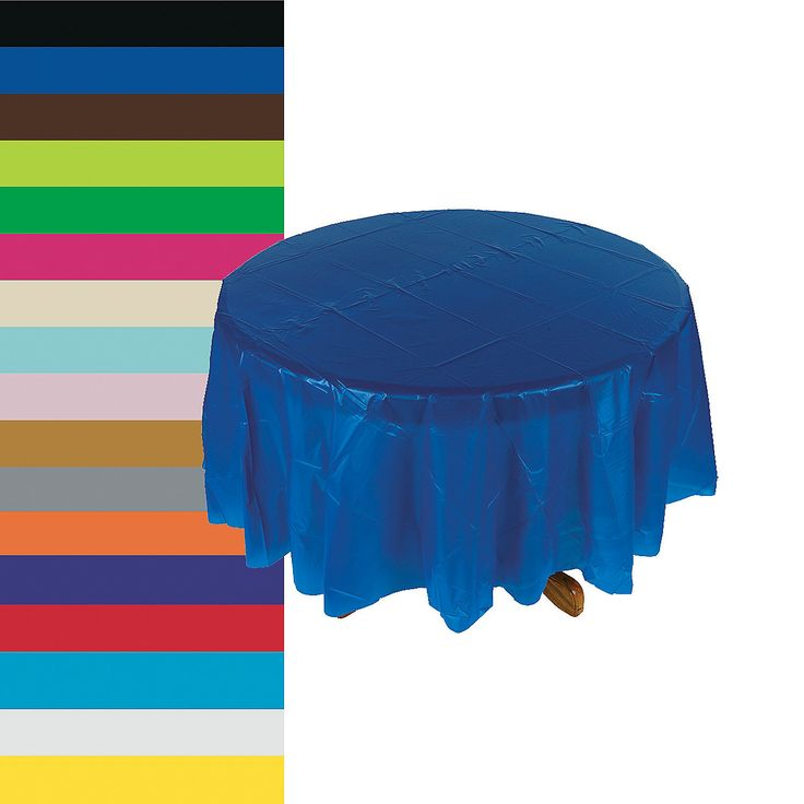 Round Table Covers Blue Turquiose Light Blue Choose