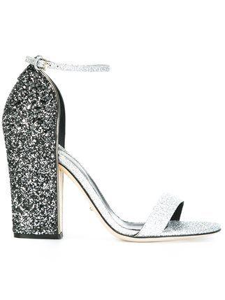 Sergio Rossi embellished heel sandals