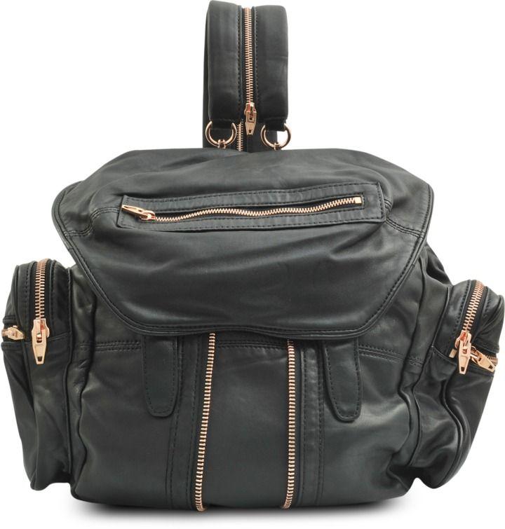 Marti rose gold backpack
