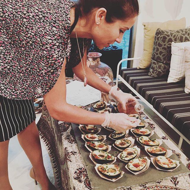 Chef Lena Ksanti of @pureveganfood the menu on lark #24 at the hip & fresh @haskellcollect in West Side Costa Mesa. #lark #larkartisanmarket #underground #communal #dinnerparty  #goodtimes #goodvibes #chefsmenu #cheflenaksanti #raw #vegan #pureveganfood #whatveganseat #delicious #food #wine #haskell #style #custom #designs #coolvintagefinds #create #elevate #dreamersandoers #costamesa #california #winter2017