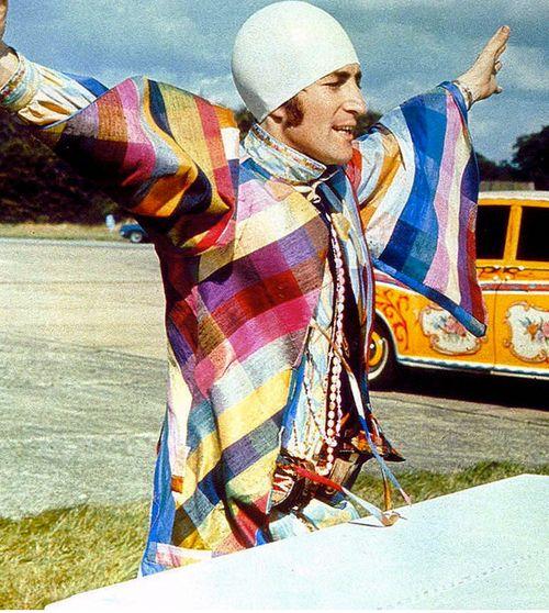 ♡♥John Lennon as an 'egghead' in the 'Magical Mystery Tour' movie in 1967♥♡