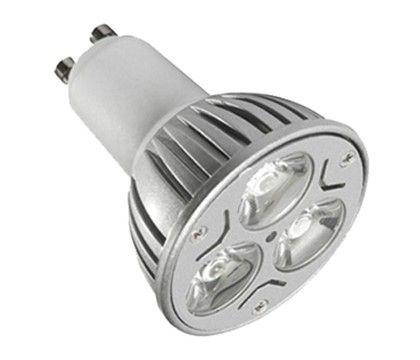 Lâmpada Power LED Branca Quente 3W Dicroica GU10: R$ 16,47. 3 LEDs, PAR16, 270 lúmens, 30° de abertura, direcional, atérmica, 50.000 horas de vida útil, bivolt. Comprar em http://www.aririu.com.br/lampada-power-led-3w-branca-quente-par-16-dicroica-gu10_175xJM