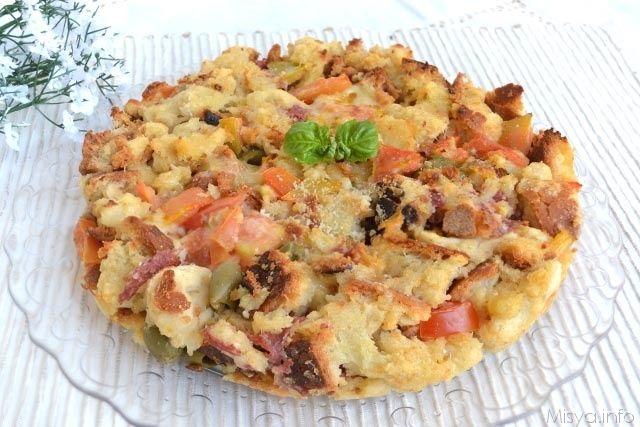 Pasticcio di pane, scopri la ricetta: http://www.misya.info/2015/06/16/pasticcio-di-pane.htm