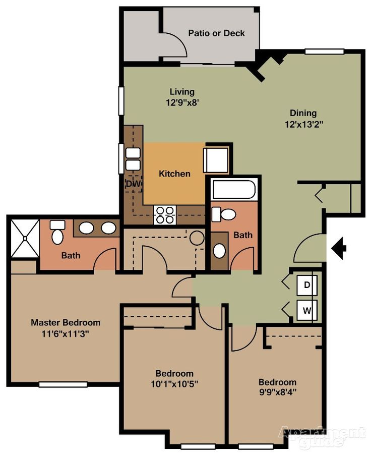 23 Best Images About Fort Lewis Apartments On Pinterest