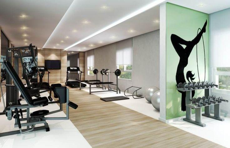 academia de ginastica decoração - Pesquisa Google