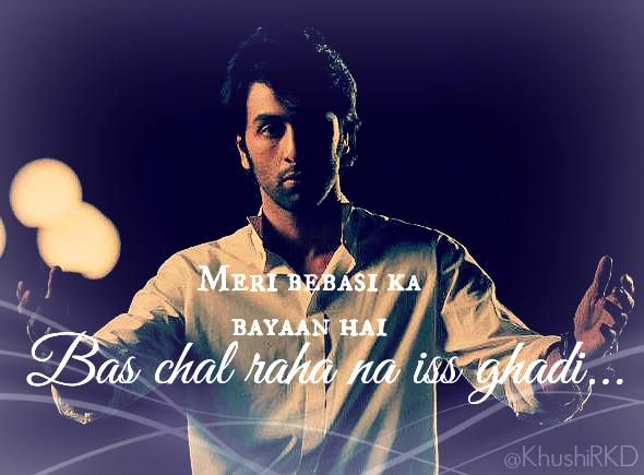 Aur Ho #Rockstar #RanbirKapoor Really feeling like hugging him -_- #MyEdit