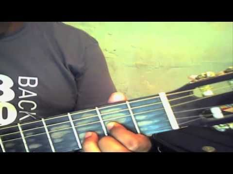Dios esta aqui tutorial con guitarra - YouTube
