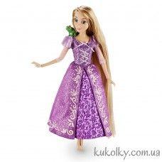Disney Rapunzel Classic Doll with Pascal Figure классическая кукла Дисней принцесса Рапунцель и Паскаль хамелеон 2016 купить в Украине недорого на сайте Куколки