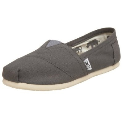 Fast and quick delivery! A little snug, so you want to make sure it is either the exact size or even a half a size up. These Toms are comfortable and have a more supported sole. Support Toms! $43.99
