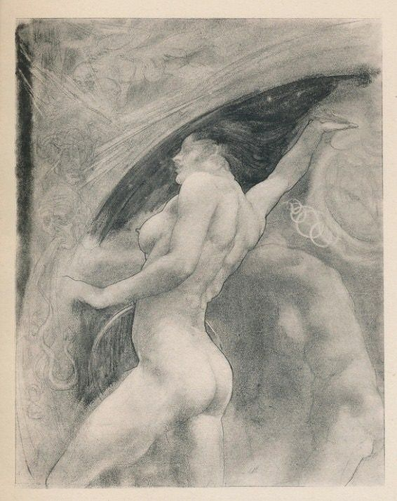 "Austin Osman Spare - Laughing aloud, Zos answered  From ""The Focus of Life"" (1921)"