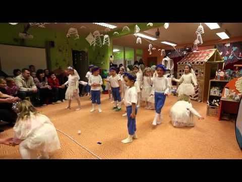 Ukázka vánoční besídky mateřské školy Alergo v Žatci - YouTube