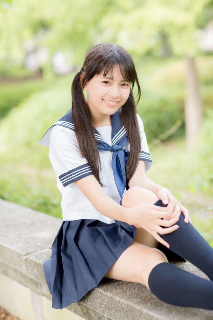 Young japanese school girl — photo 15