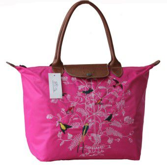 Longchamp Tree Of Life Bags Red