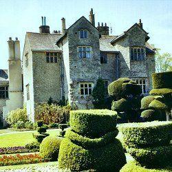 Levens Hall in Cumbria, England. Beautiful Elizabe...