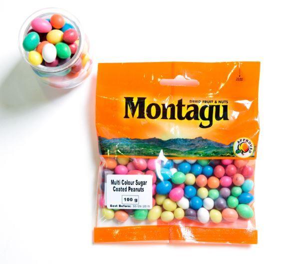 Multi Colour Sugar coated peanuts