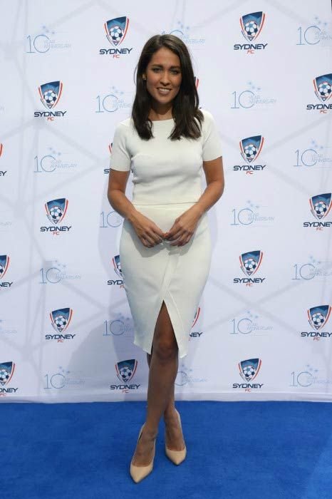 Mel McLaughlin at the Sydney FC 10 Year Anniversary Lunch in March 2015...