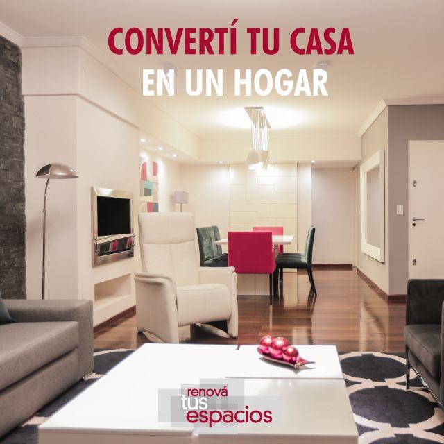 """""""Renovar tus espacios es hacer tu casa más propia, que te de gusto habitarla, compartirla"""" Arq. Andrea Longo www.renovatusespacios.com.ar"""