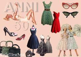 Risultati immagini per abbigliamento anni 50