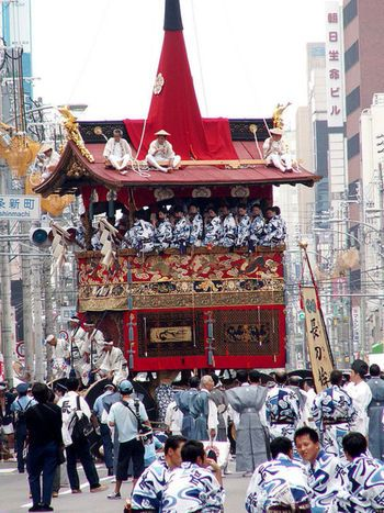 The Gion Festival is perhaps Japan's most famous festival.  Running the entire month of July each year — it's also one of the longest.