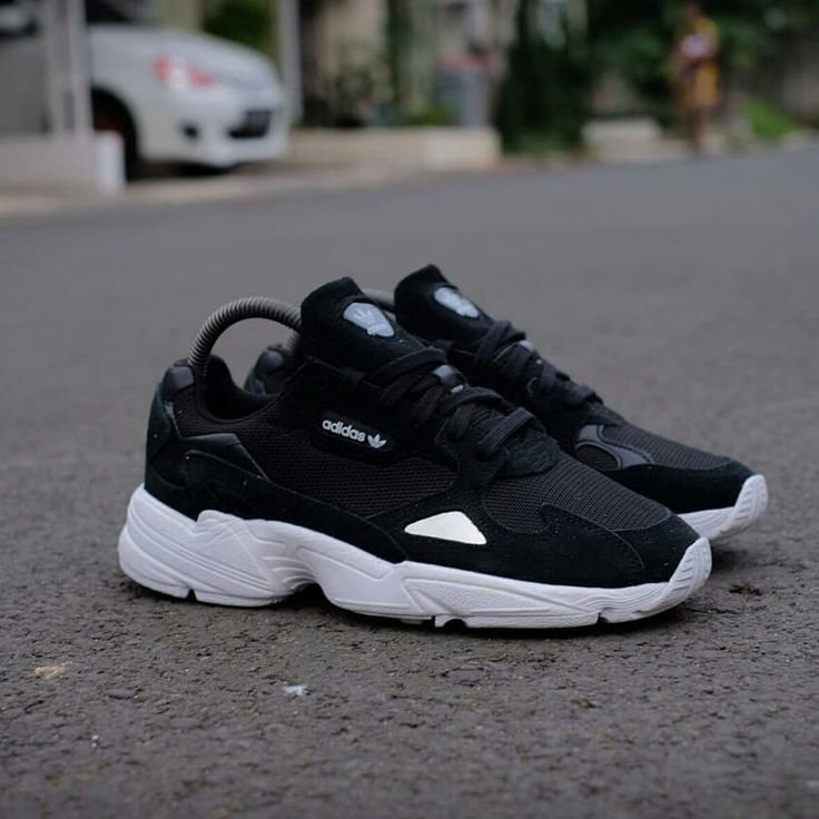 Adidas Falcon Black White Idr 780 000 Only Sz 36 37 38 39 40 Gas