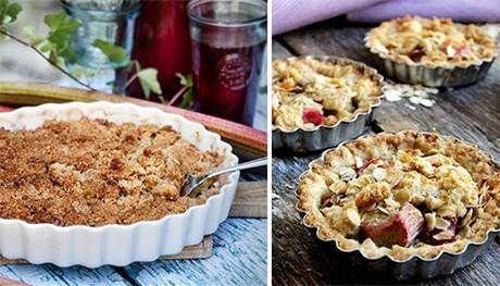 Knäckig äppelpaj med havregryn - Recept - Tasteline.com