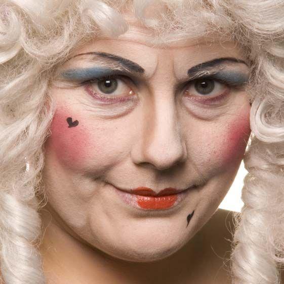 stage makeup designs cinderella | Pantomime Dame