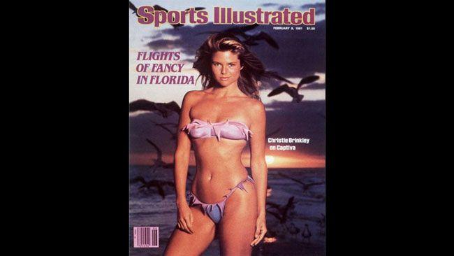 Christie Brinkley a goûté à la célébrité dans les années 1970 grâce à son apparition sur trois couvertures consécutives du spécial maillots de bain du magazine Sports Illustrated.