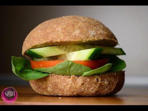 Tojásmentes paleo zsemle (gluténmentes, szénhidrátszegény, vegán zsemle) ~ Éhezésmentes Karcsúság Szafival