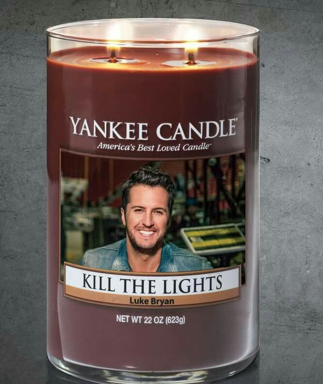 Dear Santa, all I want for Christmas this year is this candle... and backstage passes for Luke Bryan's concerts(every.single.one) hope that's not to much to handle. And if you can add in Luke Bryan under my Christmas tree, that'd be great.
