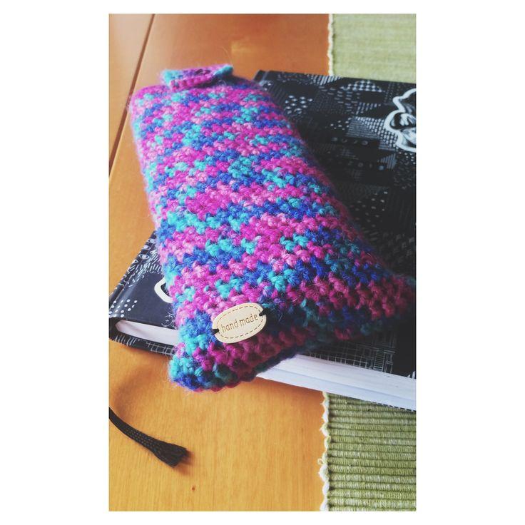 Crochet pencil-case.❤️
