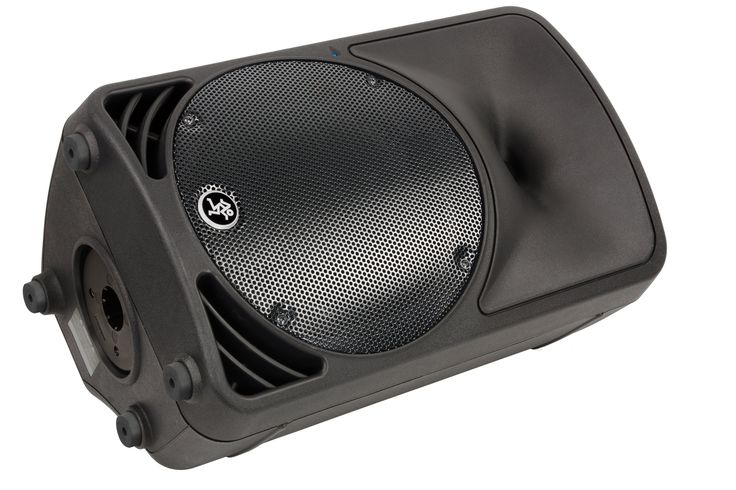 """Mackie SRM350 active 2-way 10"""" & horn, 200 watts RMS (fold-back monitors for 16 ch PA)"""