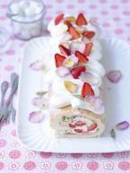 Erdbeer-Rosen-Rolle
