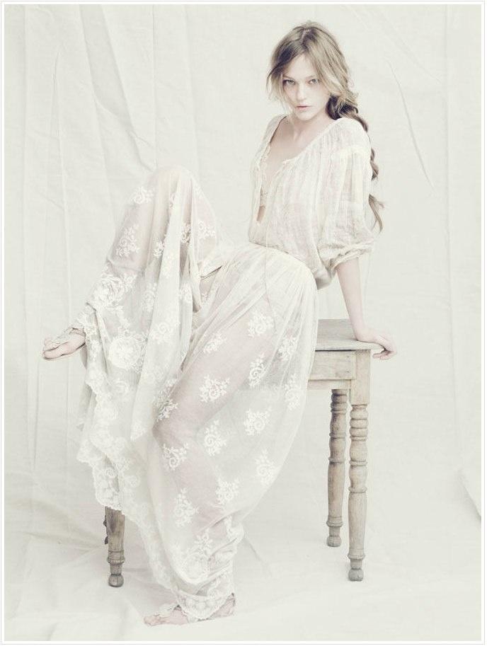 dress: Paolo Roversi, Alberta Ferretti, Ads Campaigns, The Dress, Sasha Pivovarova, White Lace, Weddings Dresss, Albertaferretti, Lace Dresses