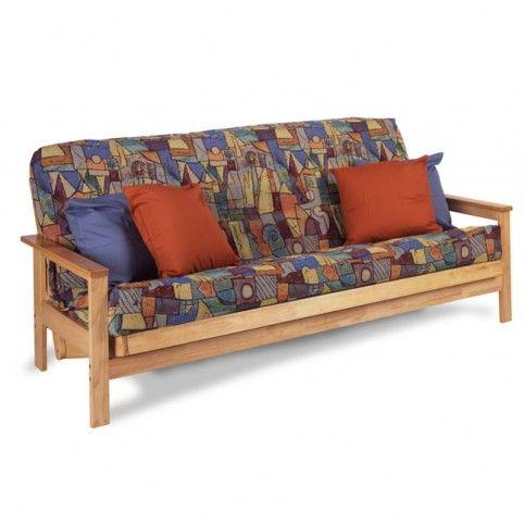 Albany Hardwood Full Futon Frame - Natural Finish $289