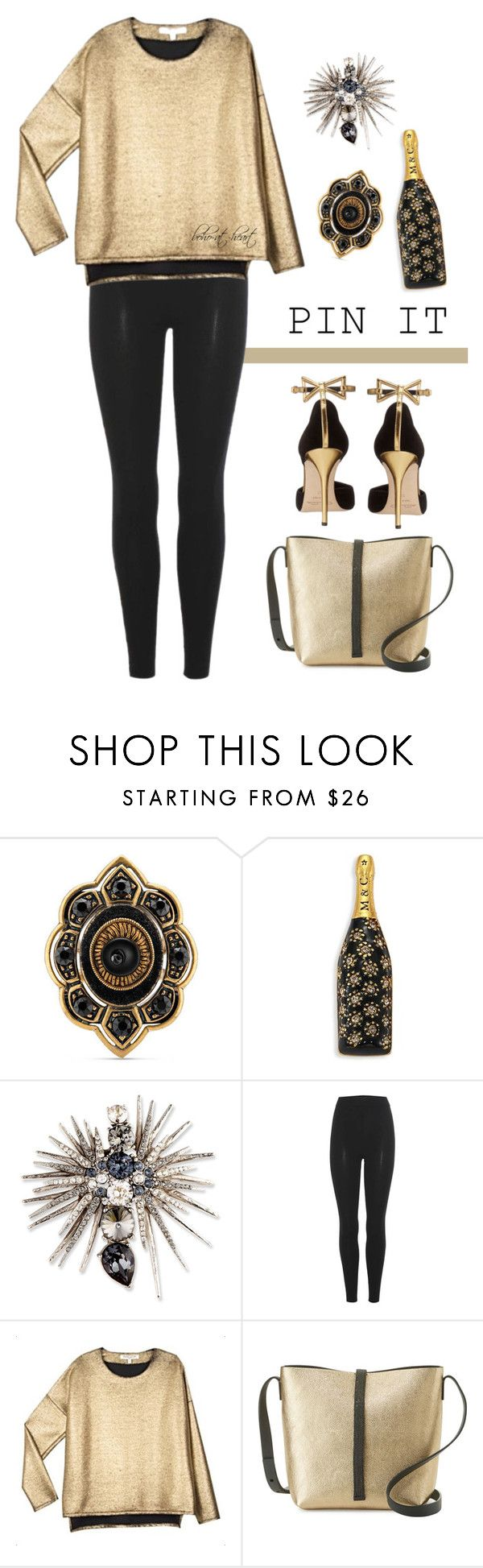 """New Year's Pins"" by boho-at-heart ❤ liked on Polyvore featuring Gucci, Marc Jacobs, Oscar de la Renta, adidas Originals, VALENTINE GAUTHIER and Brunello Cucinelli"