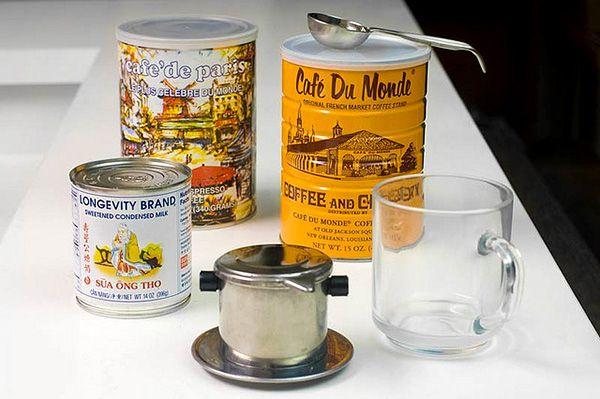 Vietnamese iced coffee,cafe sua da