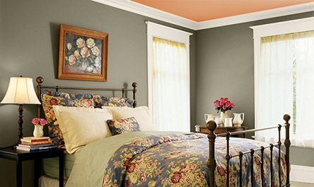 traditional bedroom colors pine needle valspar paint eddie bauer farmhouse collection 13562