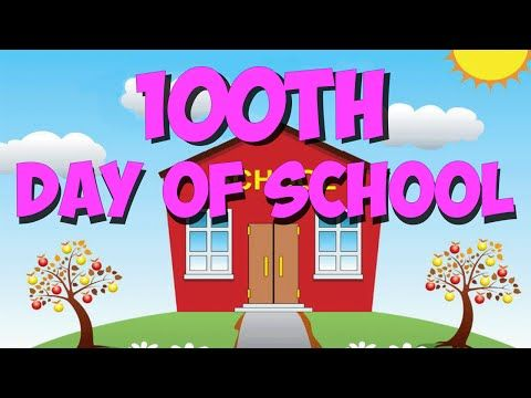 100th Day of School Song | 100 Days of School | Lyric Video | The Kiboomers - YouTube