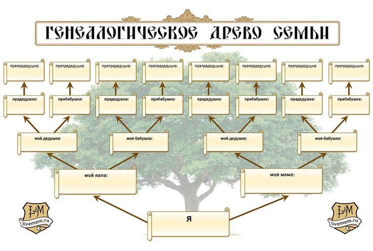 Родовое дерево программа скачать торрент