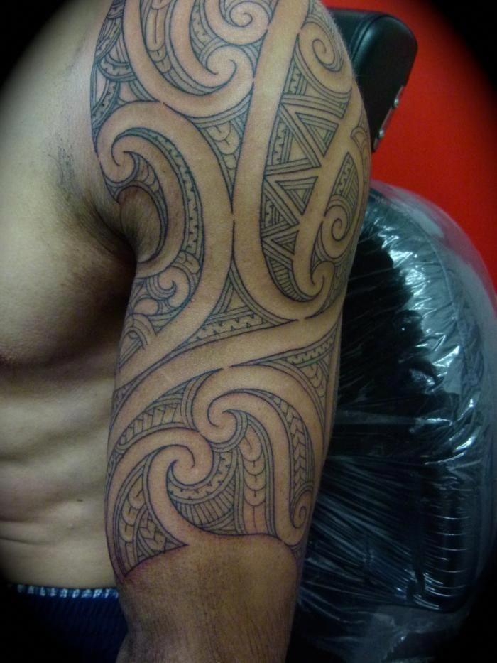 Maori Tattoos And Their Meanings Maoritattoos Maori Tattoo Designs Maori Tattoo Tribal Arm Tattoos