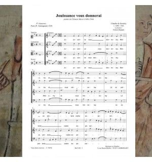Claudin de SERMISY / Clément MAROT : Jouissance vous donnerai - chanson de la Renaissance 4 voix mixtes (SATB) - Editions Musiques en Flandres - référence : MeF 403