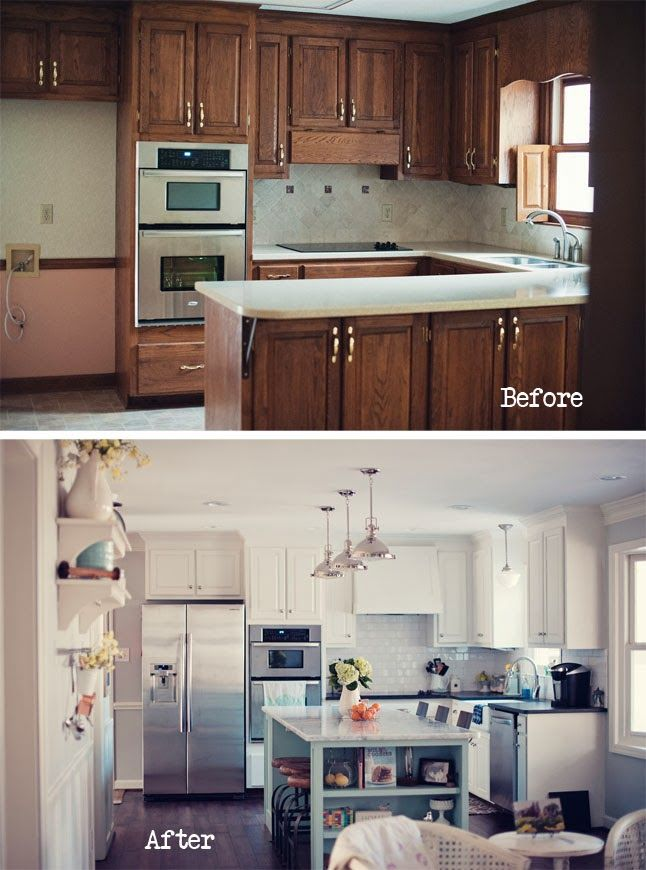 The momtog diaries a new year a new home kitchen for Kitchen remodel before after
