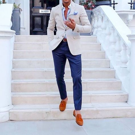 Stunning 44 Casual Men Style Outfit Ideas with Suit from https://www.fashionetter.com/2017/05/03/44-casual-men-style-outfit-ideas-with-suit/