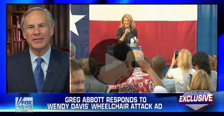 WATCH What Texas GOP's Greg Abbott Just Said About Opponent's Shocking Wheelchair Ad