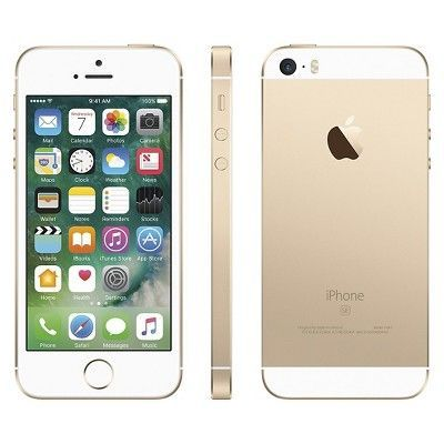 Unlocked  iPhone SE 16GB Gsm Cell Phone - Gold, Apple