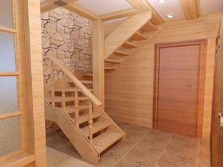 поворотная лестница с забежными ступенями - Поиск в Google