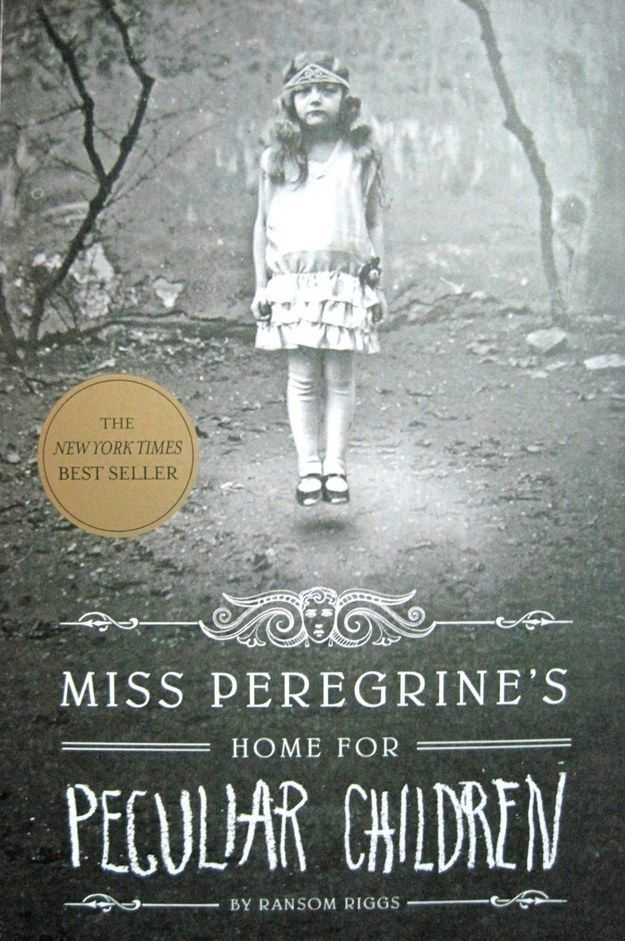 Miss Peregrine's Home for Peculiar Children by Ransom Riggs   27 Seriously Underrated Books Every Book Lover Should Read