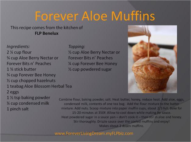 Forever Aloe Muffins